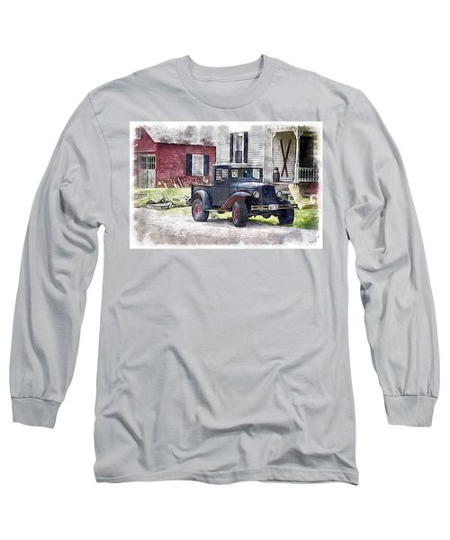 Stepping Back Long Sleeve T-Shirt