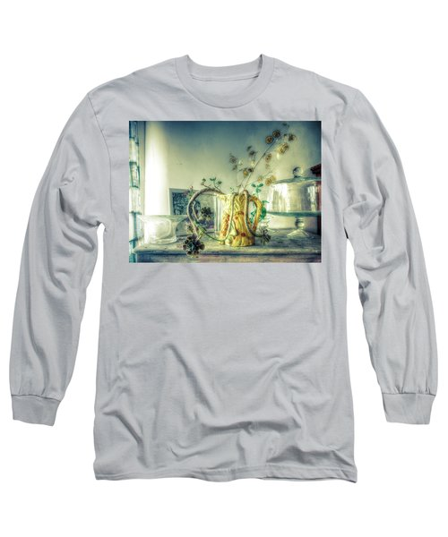 Long Sleeve T-Shirt featuring the photograph Still, Life Goes On by Wayne Sherriff