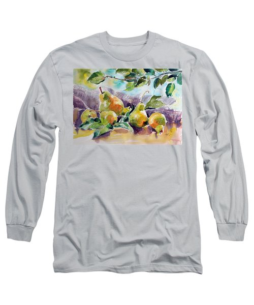 Still Life With Pears Long Sleeve T-Shirt