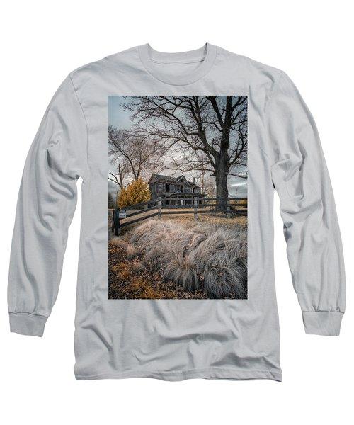 Still Standing Ir Long Sleeve T-Shirt by Paul Seymour