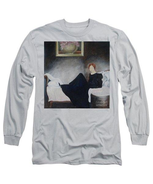 Stillness Of Being Long Sleeve T-Shirt