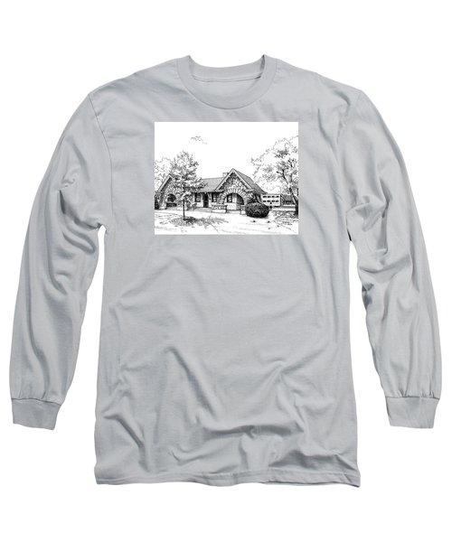 Stone Ave. Train Station Long Sleeve T-Shirt