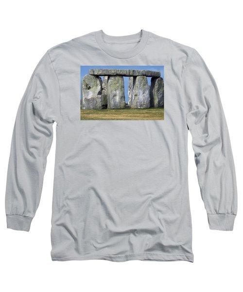 Stonehenge Long Sleeve T-Shirt by Travel Pics