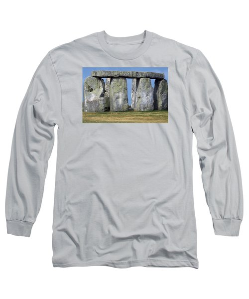 Long Sleeve T-Shirt featuring the photograph Stonehenge by Travel Pics
