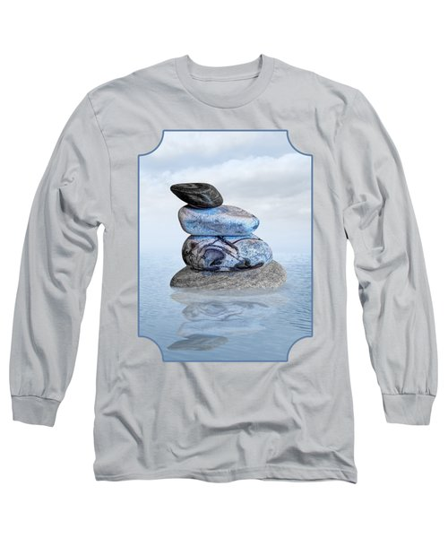 Stones In Water Long Sleeve T-Shirt