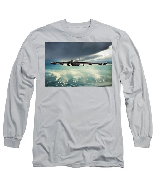 Long Sleeve T-Shirt featuring the digital art Storm Cell by Peter Chilelli