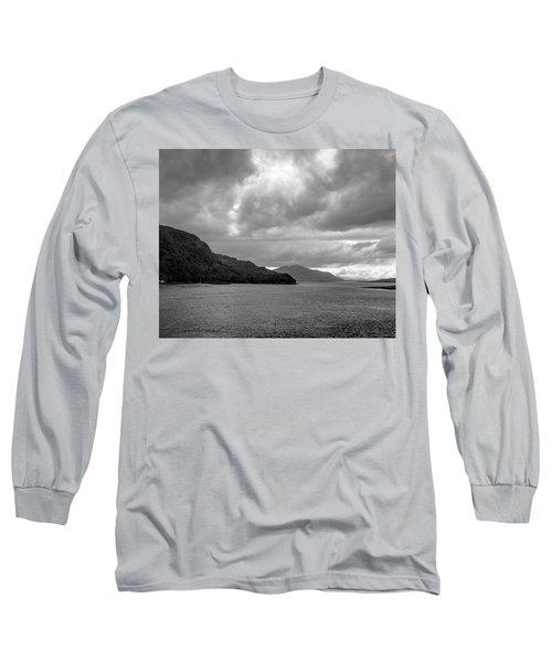 Storm On The Isle Of Skye, Scotland Long Sleeve T-Shirt