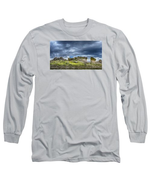 Stormy Peak 3 Long Sleeve T-Shirt by Mary Angelini