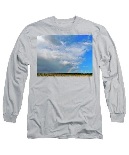 Thunder Storm Rainbow Long Sleeve T-Shirt