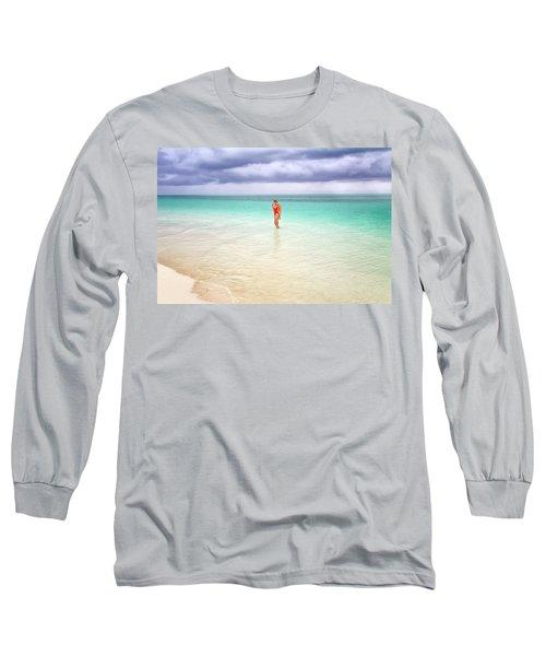 Stranded Long Sleeve T-Shirt