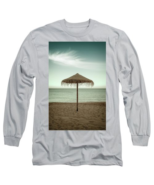 Long Sleeve T-Shirt featuring the photograph Straw Shader by Carlos Caetano