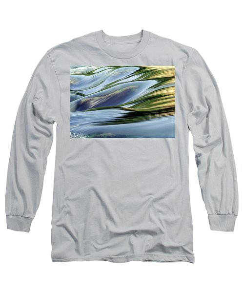 Long Sleeve T-Shirt featuring the photograph Stream 3 by Dubi Roman
