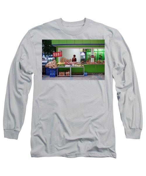 Street Vendor  Beijing Long Sleeve T-Shirt