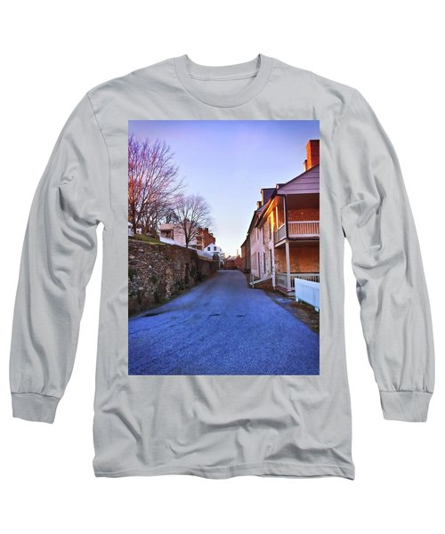 Streets Of Harpers Ferry Long Sleeve T-Shirt