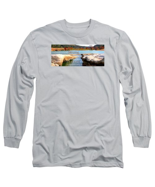 Strength Multiplied Long Sleeve T-Shirt by David Norman
