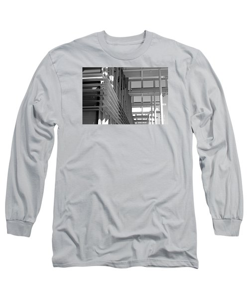 Structure Abstract 2 Long Sleeve T-Shirt by Cheryl Del Toro