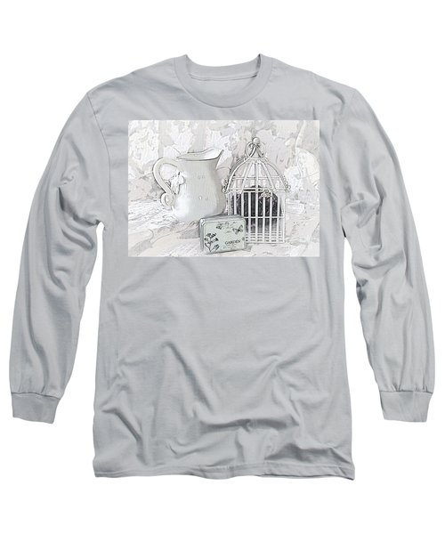 Stuck And All Alone Long Sleeve T-Shirt by Sherry Hallemeier