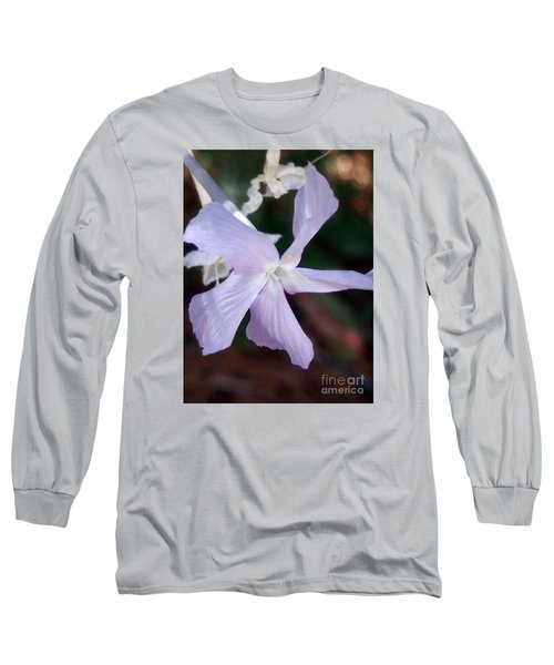 Stunning New Mexico Purple Wildflower Long Sleeve T-Shirt