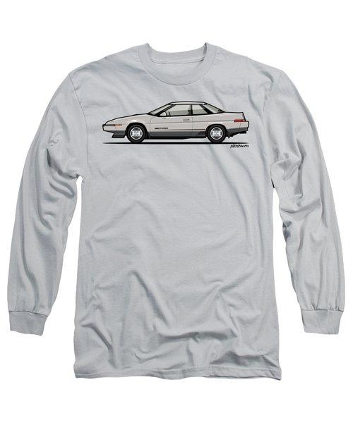 Subaru Alcyone Xt-turbo Vortex Silver Long Sleeve T-Shirt