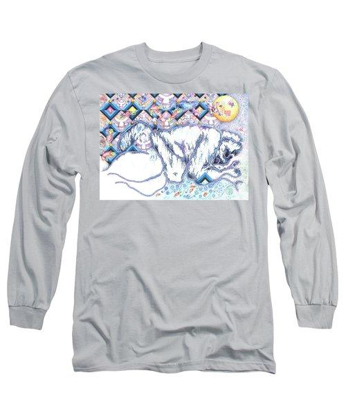 Suenos De Invierno Winter Dreams Long Sleeve T-Shirt