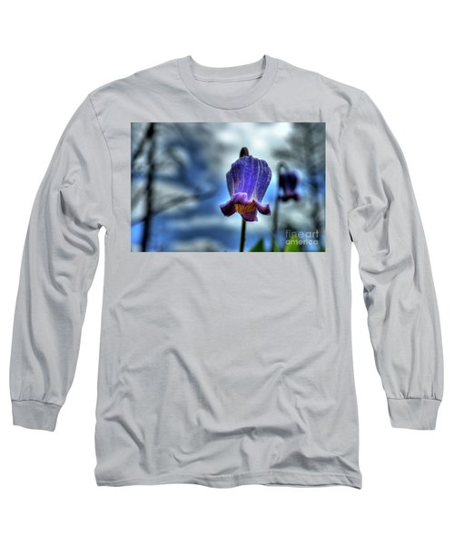 Sugarbowl Leather Flower Long Sleeve T-Shirt