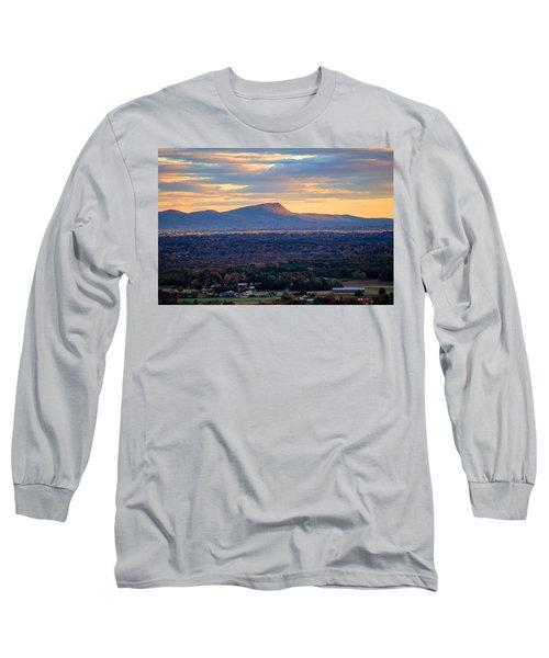 Sugarloaf View, South Deerfield, Ma Long Sleeve T-Shirt