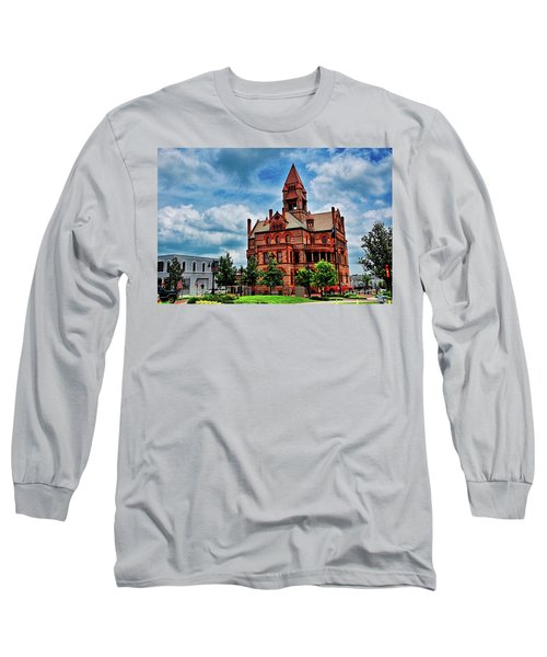 Sulphur Springs Courthouse Long Sleeve T-Shirt by Diana Mary Sharpton