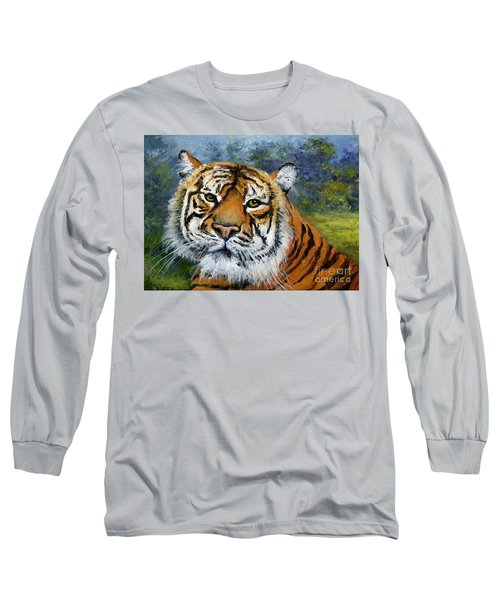 Sumatran Tiger Long Sleeve T-Shirt