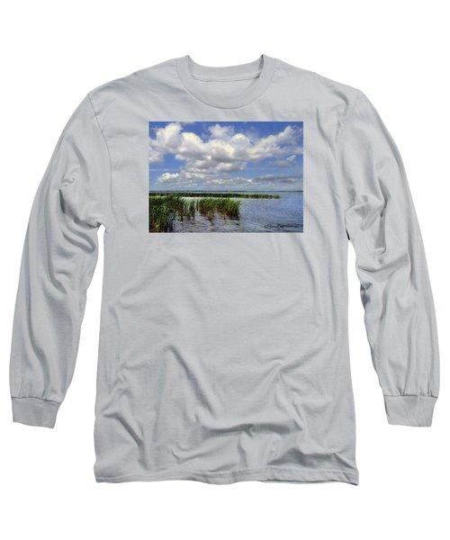 Summer Along Angler's Bay Long Sleeve T-Shirt