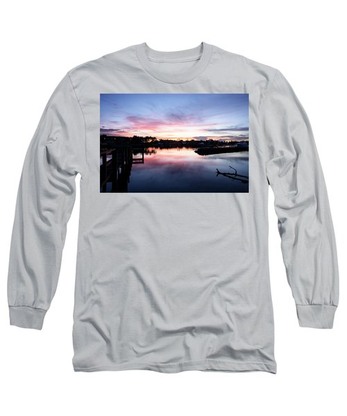 Long Sleeve T-Shirt featuring the photograph Summer House by Laura Fasulo