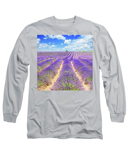 Summer In Provence Long Sleeve T-Shirt by Anastasy Yarmolovich