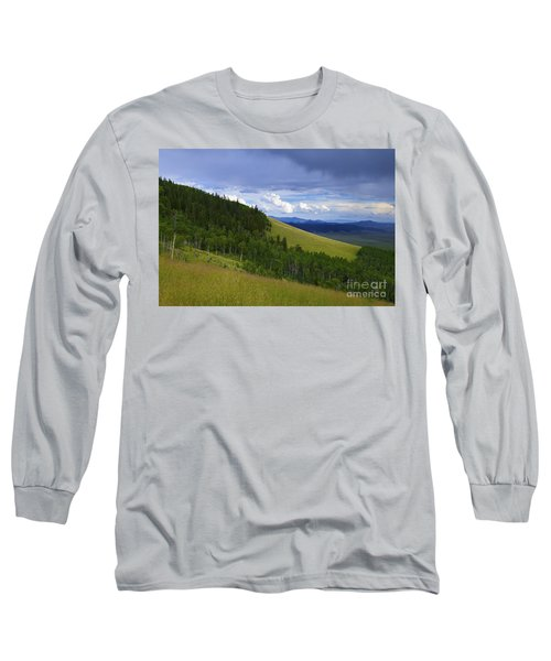 Summer On Kenosha Pass Long Sleeve T-Shirt