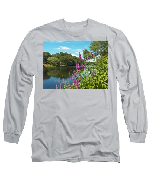 Summer On Kings Pond Long Sleeve T-Shirt