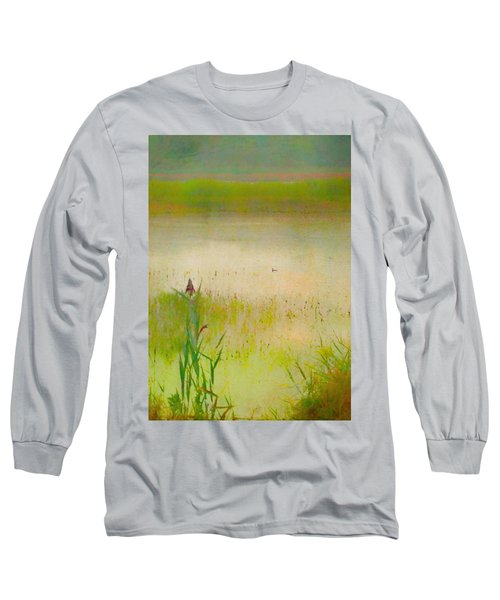 Summer Reeds Long Sleeve T-Shirt by Catherine Alfidi