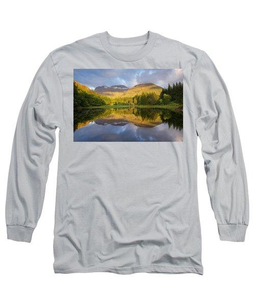 Summer Reflections At The Torren Lochan Long Sleeve T-Shirt
