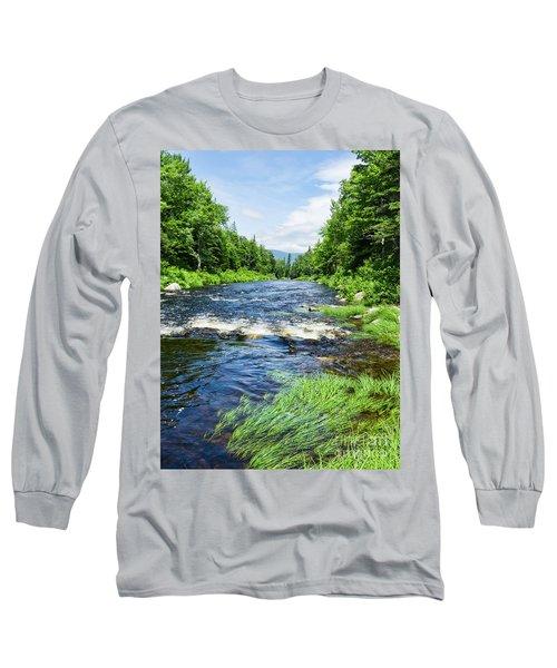 Summer Scene Rangeley Maine  -70742 Long Sleeve T-Shirt