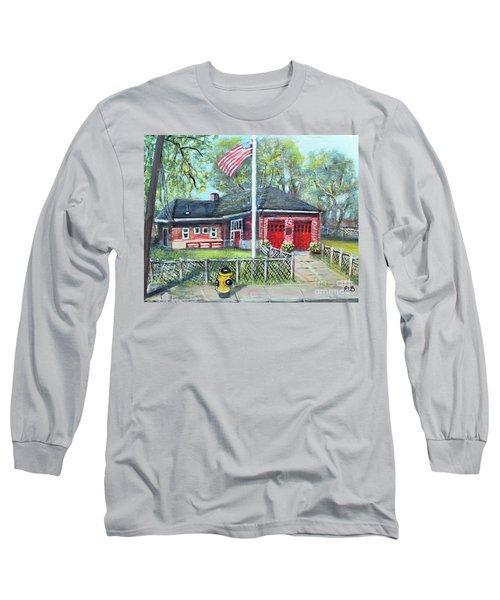 Summer Sunday At E4 Long Sleeve T-Shirt by Rita Brown