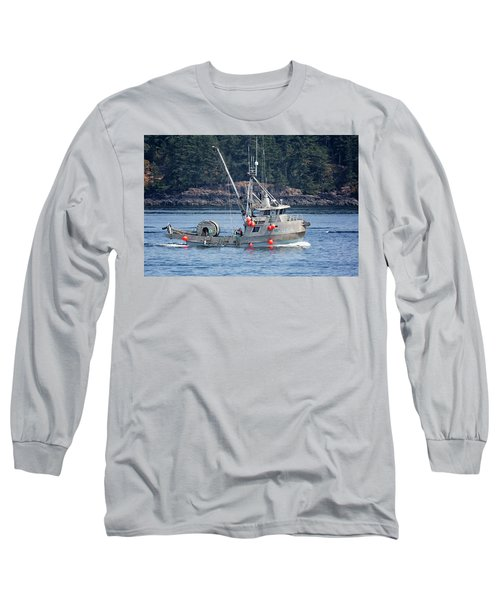 Sun Fisher Off Campbell River Long Sleeve T-Shirt