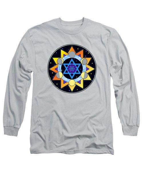 Sun, Moon, Stars Long Sleeve T-Shirt