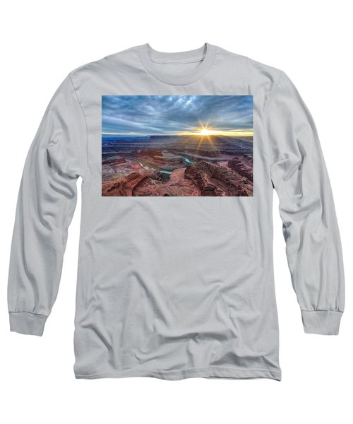 Sunburst At Dead Horse Point Long Sleeve T-Shirt