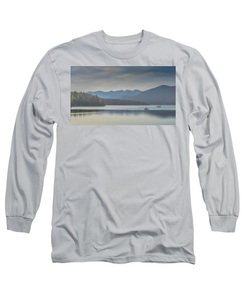Long Sleeve T-Shirt featuring the photograph Sunday Morning Fishing by Chris Lord