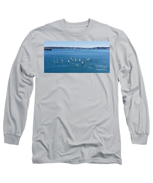 Sunday Sailing School On Casco Bay Long Sleeve T-Shirt