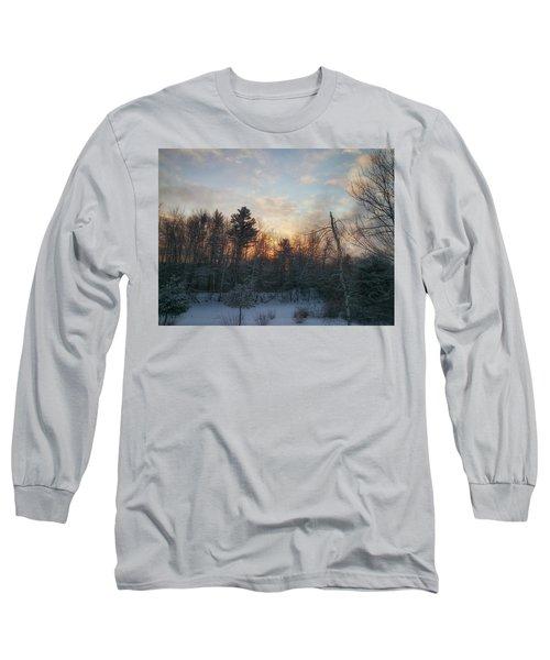 Sundown Winter New England Long Sleeve T-Shirt