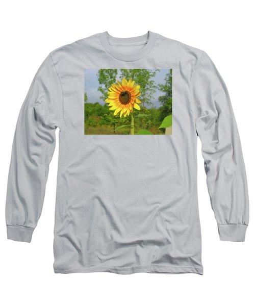 Ah, Sunflower Long Sleeve T-Shirt