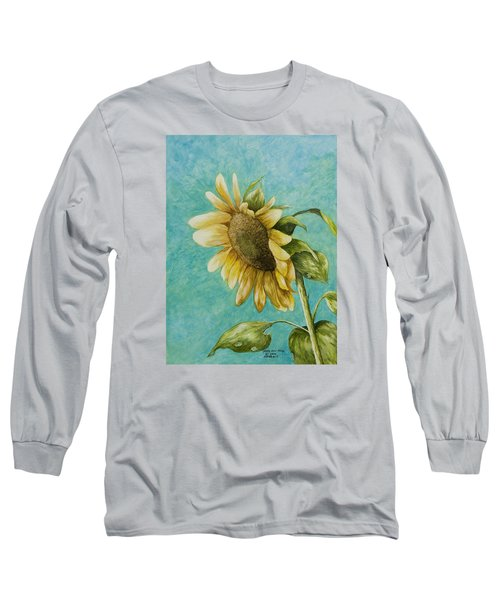 Sunflower Number One Long Sleeve T-Shirt