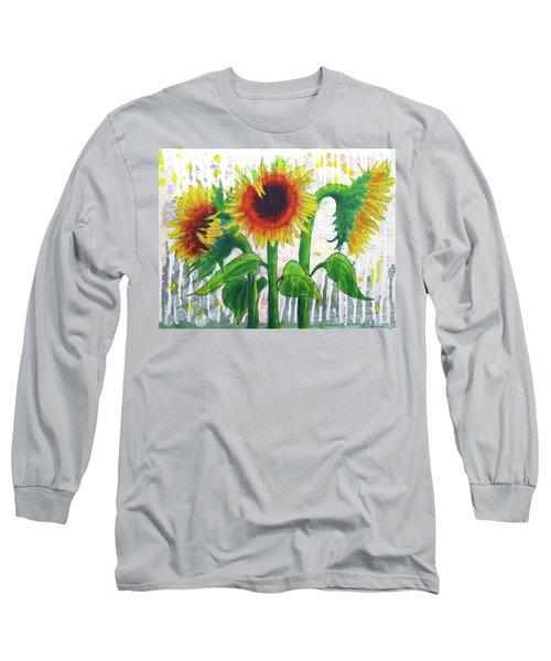 Sunflower Sonata Long Sleeve T-Shirt