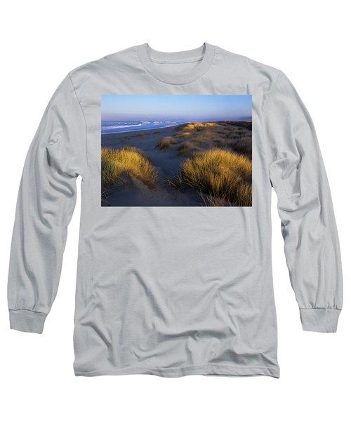 Sunlight On The Beach Grass Long Sleeve T-Shirt