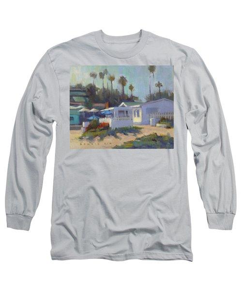 Sunny Day At Crystal Cove Long Sleeve T-Shirt