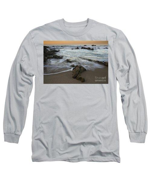 Long Sleeve T-Shirt featuring the photograph Sunrise At Laguna Beach by Keith Kapple