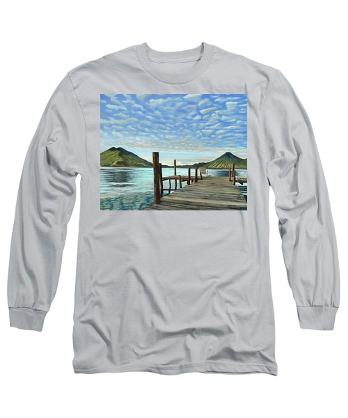 Sunrise At The Water Long Sleeve T-Shirt